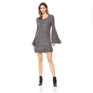 Kensie Sweater One Mini Dress With Bell Sleeves